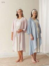 Baha Lohusa Hamile Sabahlık Pijama Takımı 3316