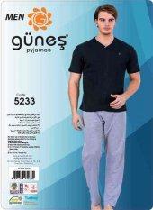 Güneş 5233 Kısa Kol Erkek Pijama Takımı