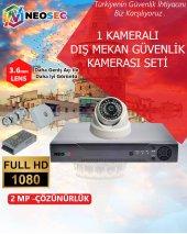 1 Kameralı (İç Mekan) Güvenlik Kamerası Seti Hd 1080p