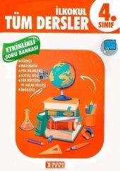 4.sınıf Tüm Dersler Etkinlikli Öğreniyorum Soru Bankası İşleyen Zeka Yayınları