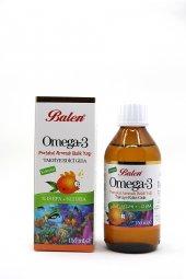 Balen Omega 3 Portakal Aromalı Balık Yağı 150 Ml