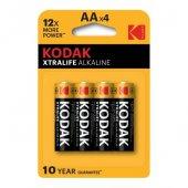Kodak Xtralife Alkaline Kalem Pil Aa 4lü