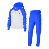Kız Çocuk Beyaz Takım Mavi