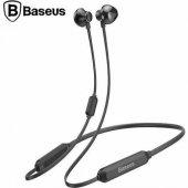 Orjinal Baseus Ense Tipi Boyun Askılı Bluetooth Kulaklık İphone H