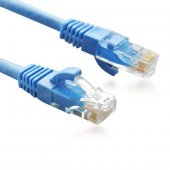 Dark 1m Cat6 Cu Awg24 7 Utp Mavı Network Kablo (Dk Cb Nt6u100bu)