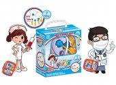 Bavullu Doktor Oyuncak Seti Doktor Set Valizli Kut...