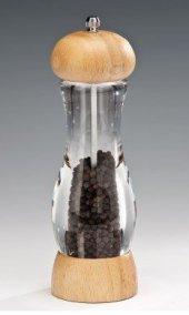 Akrilik Tuz Karabiber Değirmeni 21 Cm