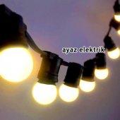 Sıralı Işık Seyyar Bahçe Aydınlatması 2x2,5mm Kablolu 1 Metre