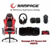 Rampage Kl R40 Throne Oyuncu Koltuğu + Rampage Oyuncu Seti Hediye