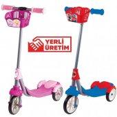 Lisanslı 3 Teker Frenli Çocuk Scooter