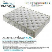 Kupons Aloevera Yaylı Visco Yatak 80x180 Cm