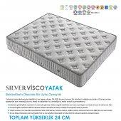 Kupons Silver Yaylı Visco Yatak 180x200 Cm