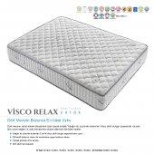 Kupons Visco Relax Yaylı Visco Yatak 160x200 Cm Yastık Hediye