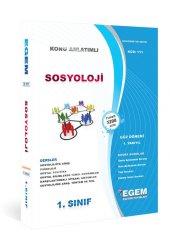 Egem Yayınları Sosyoloji 1. Sınıf Güz Dönemi Toplu Tek Kitap