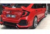 Honda Cıvıc 2016 2019 Fc5 Type R Arka Tampon Boyalı