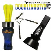 Buck Gardner Double Nasty 2 Ördek Düdüğü Seti Blue Fgreen