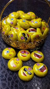 Elit Emoji Sütlü Çikolata 500 Gr.