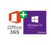 Windows 10 Pro Lisans + Office 365 Hesabı