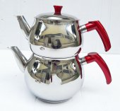 Küre Çelik Çaydanlık Takımı