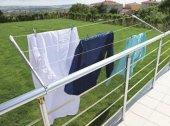 Balkon Çamaşır Kurutma Askılığı Yuvarlak Pks06