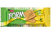 Eti Form Limon Lifli Kepekli Bisküvi 50 Gram 24 Adet