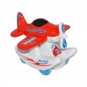 Canem 0783 84 Sürtmeli Metal Kırmızı Uçak