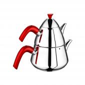 Remetta Ritta Çaydanlık Takımı Kırmızı