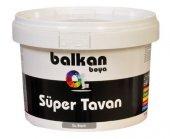 Balkan Süper Tavan Boyası Beyaz 17,5 Kg