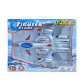 Toys Toys Büyük Pilli Uçak Can 239 Gri