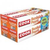Cook Buzdolabı Poşeti Orta Boy 4' Lü Set