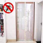 Mıknatıslı Kapı Sinekliği Tül Kapı Sineklik Otomatik Kapanan