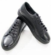 Deepsea Siyah Yüksek Taban Yeni Sezon Bağcıklı Gündelik Erkek Ayakkabı 1808928