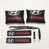 Hyundai Siyah Boyun Yastık Seti
