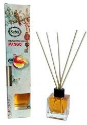 Mango Bambu Çubuklu Egzotik Kare Şişe Ortam Kokusu 50ml