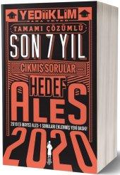 Yediiklim Yayınları 2020 Ales Son 7 Yıl Tamamı Çözümlü Çıkmış Sorular(5 Mayıs Ales 1 Ekli)