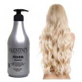 Silver Pigment Professionel Mor Şampuan 500ml