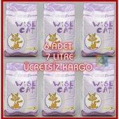 Wise Cat Kedi Kumu 7 Lt Dıatomıt (3 Kg) (6 Lı Ambalaj)