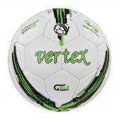Vertex Golf Dikişli 5 No Futbol Topu Beyaz Yeşil