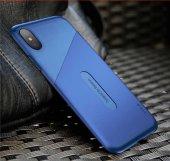 Apple İphone X Kılıf Baseus Kart Telefon Arka Kapak