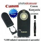 Canon Eos İçin Rc 5 Kablosuz Uzaktan Kumanda + Lenspen + Bedava K