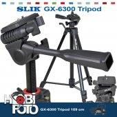 Canon Eos 100d İçin Profesyonel Slık Gx 6300 Tripod 159 Cm