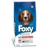 Foxy Yavru Kuzu Etli Köpek Maması 15 Kg