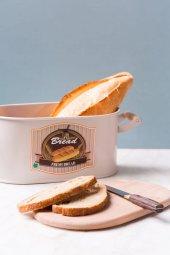 Bej Rengi Kesme Tahtalı Ekmeklik