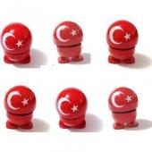 Ce Ka Türk Bayraklı Çılgın Zıp Zıp Kafalar