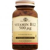 Solgar Vitamin B12 500 Mg 50 Kapsül