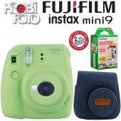 Fujifilm İnstax Mini 9 Ekonomik Kit (Yeşil) 20'li