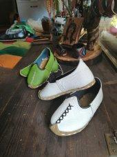 Deri Çocuk Yemeni Ayakkabı