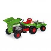 637 Dump Track Yeşil Traktör 4v