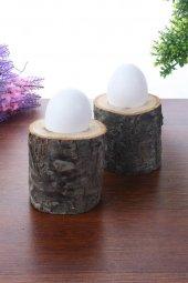 Qtük Doğal Kütük 2li Yumurtalık