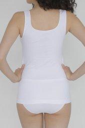 Yevda Kadın Beyaz Dikişsiz İnce Askılı Atlet 2340